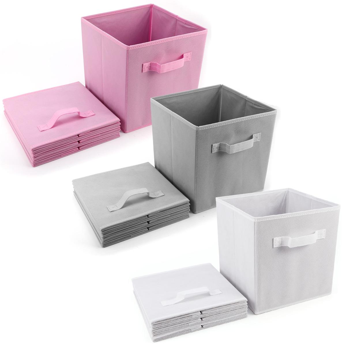Set de 4 caja de almacenaje para juguetes ropas caja de - Cajas de almacenaje ...