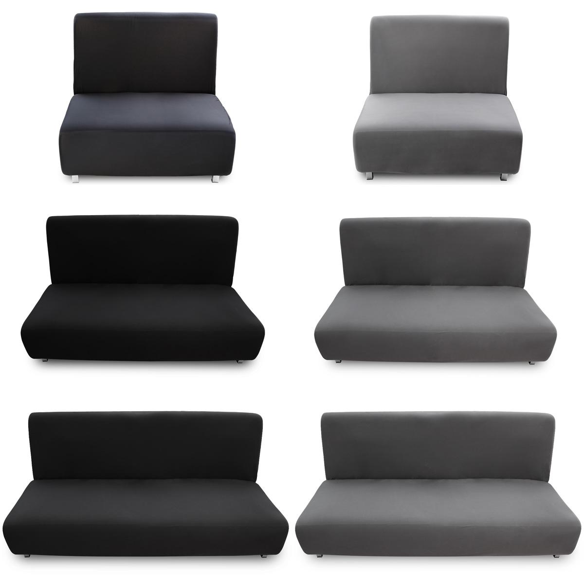 Fundas de sof elastica ajustable para sof s cama clic - Fundas de sofa gris ...