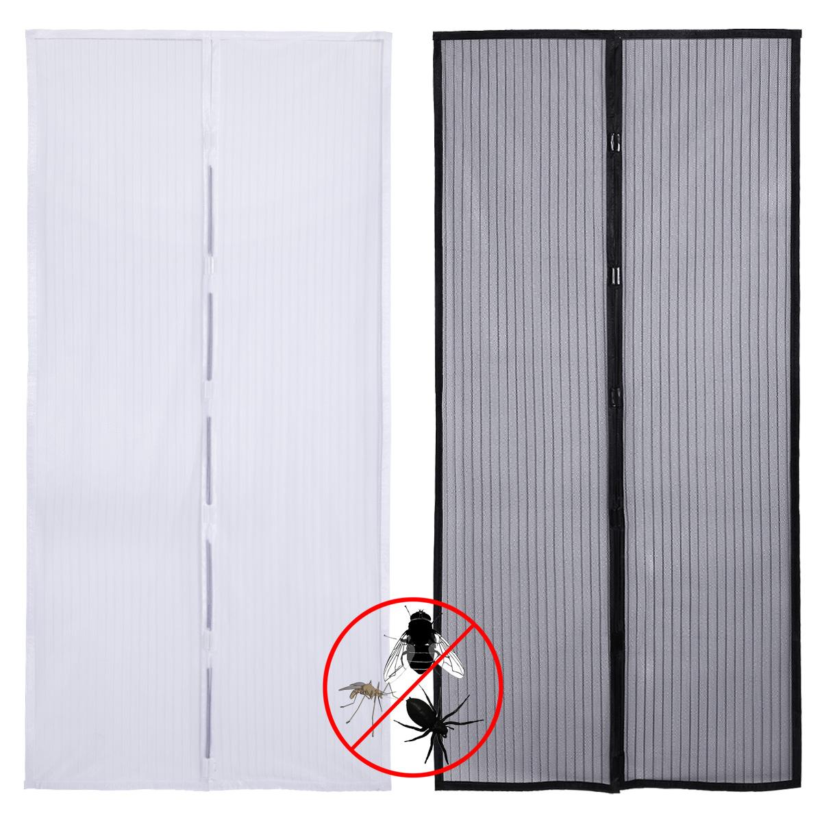 Instant Mesh Screen Door Magnetic Hands Free Bug Mosquito
