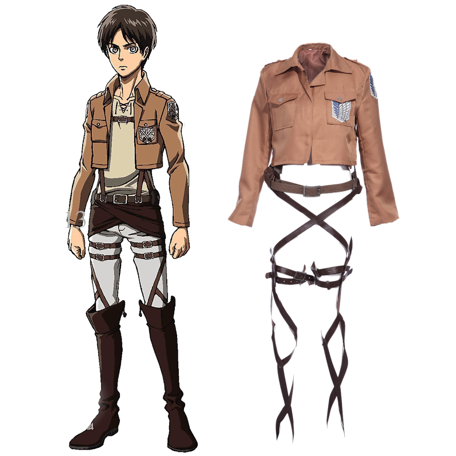 cosplay for attack on titan shingeki no kyojin legion. Black Bedroom Furniture Sets. Home Design Ideas