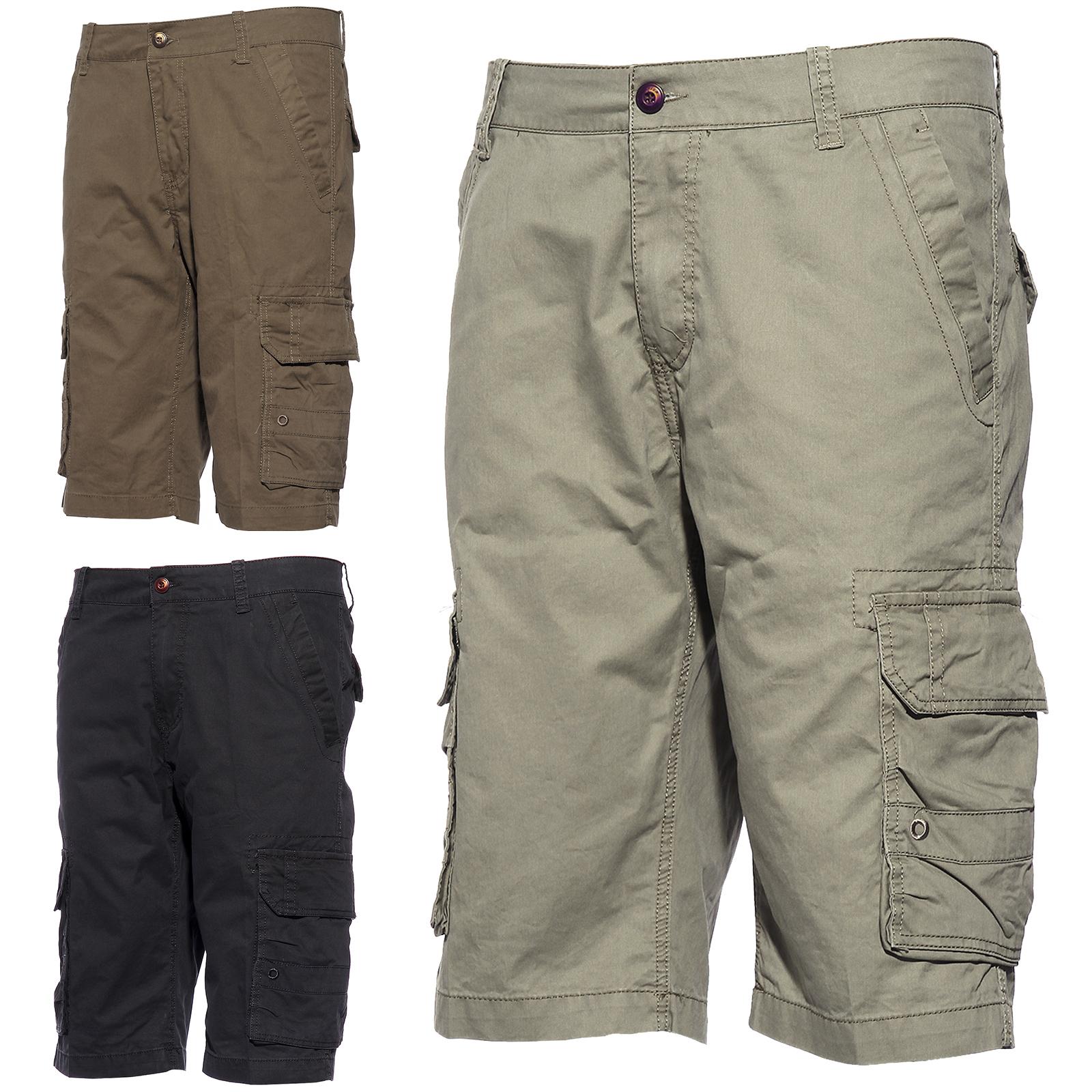 bermuda pantalon short pant pantacourt cargo homme plage style 2 3couleur taille ebay. Black Bedroom Furniture Sets. Home Design Ideas