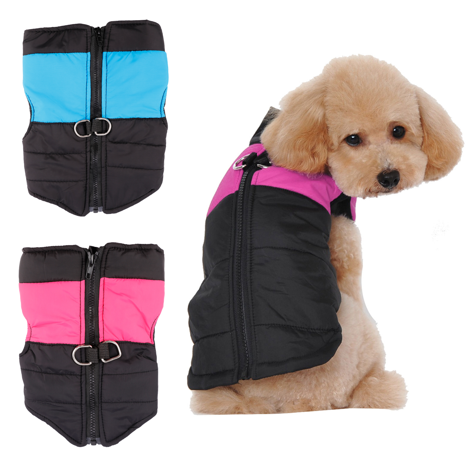 Quality Waterproof Dog Coat Jacket Winter Quilted Padded
