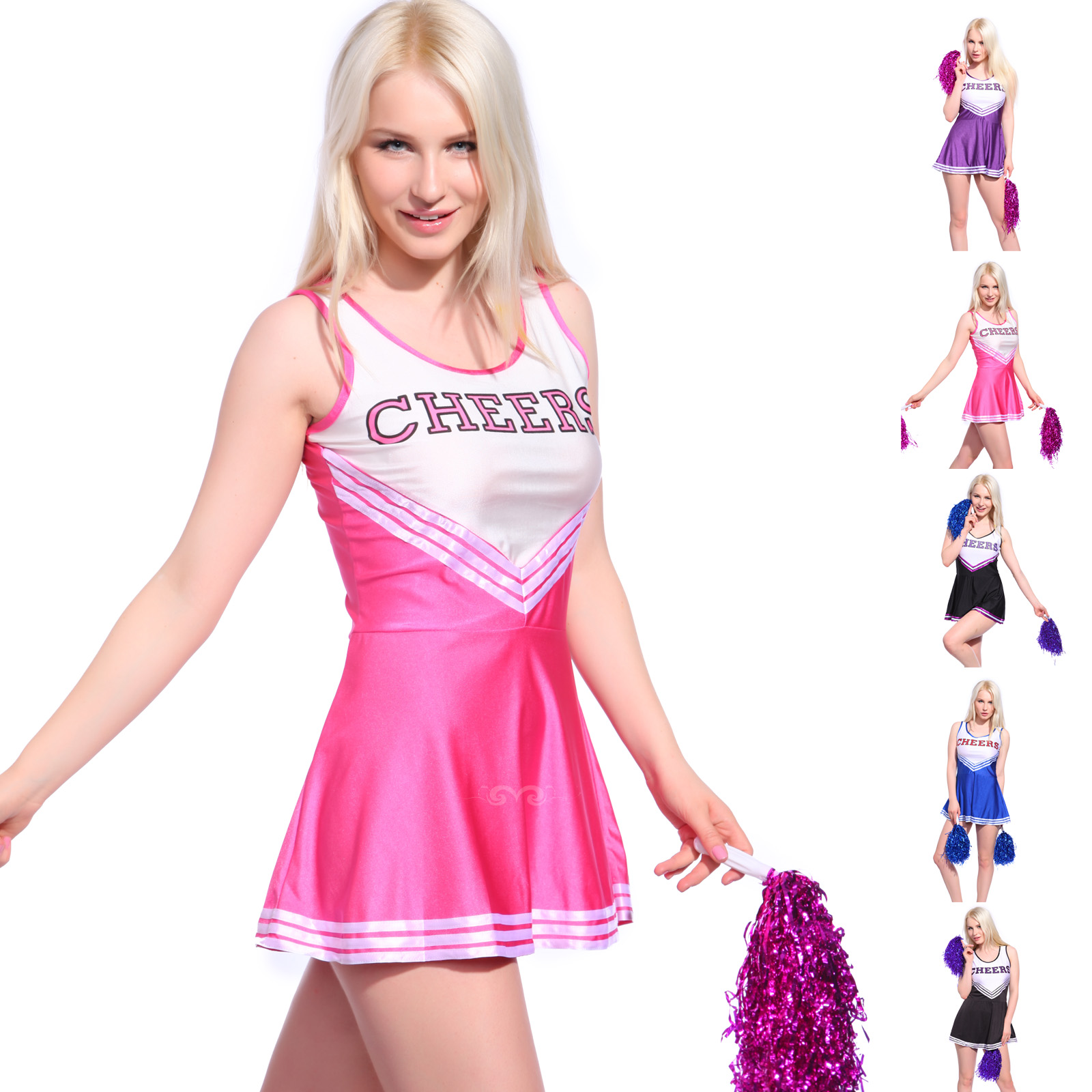 adult cheer leading costume