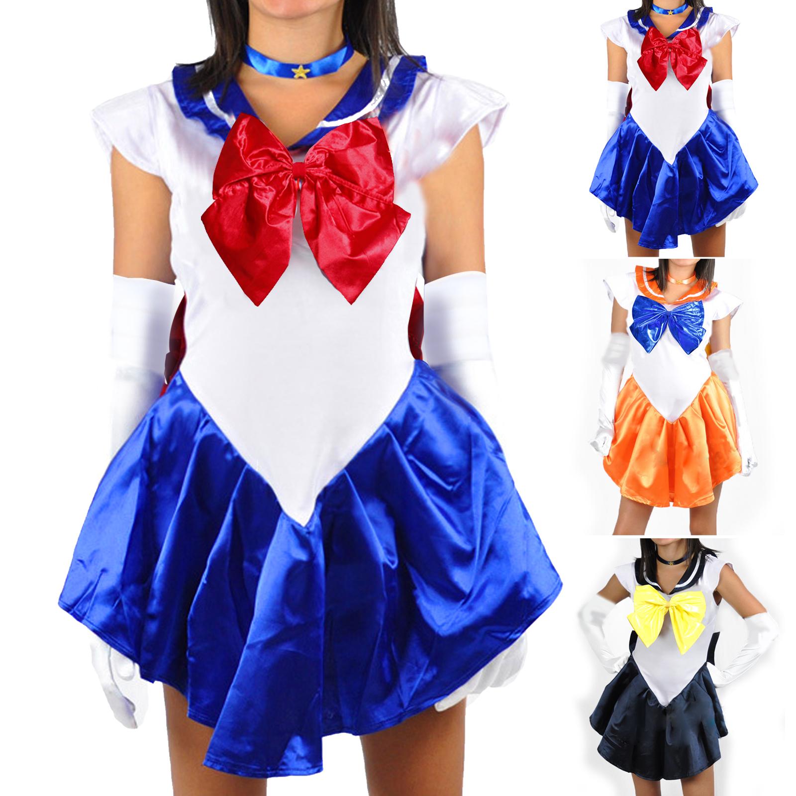 Cosplay Sailor Moon Venus Uranus Kostüm Japanische Schuluniform Gr