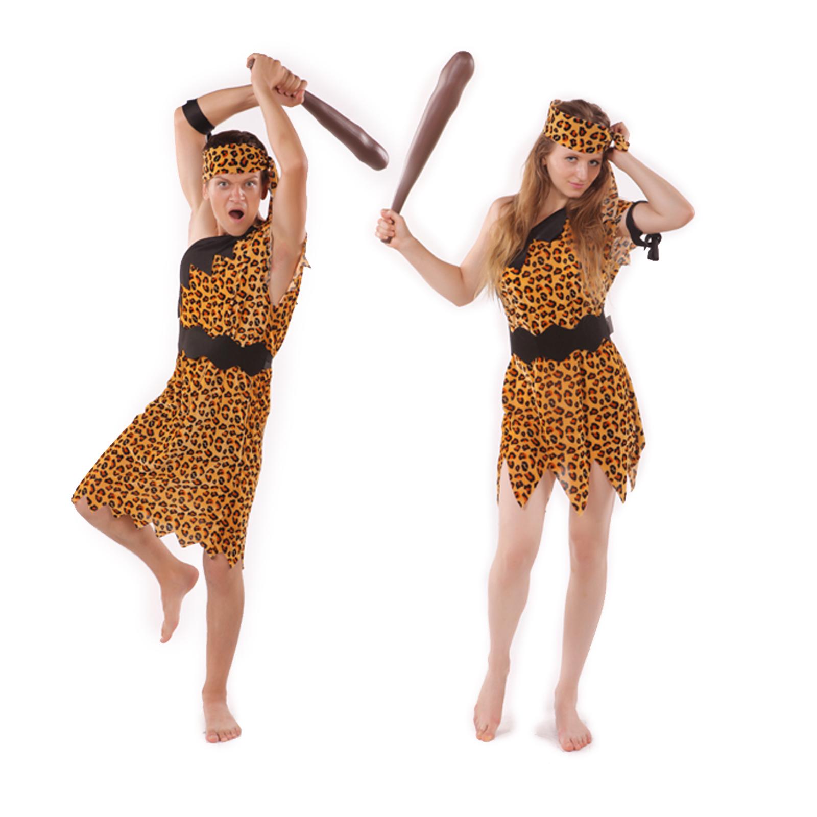 Wonderful Ladies Sexy Stone Age Prehistoric Jungle Hunter Cavewoman