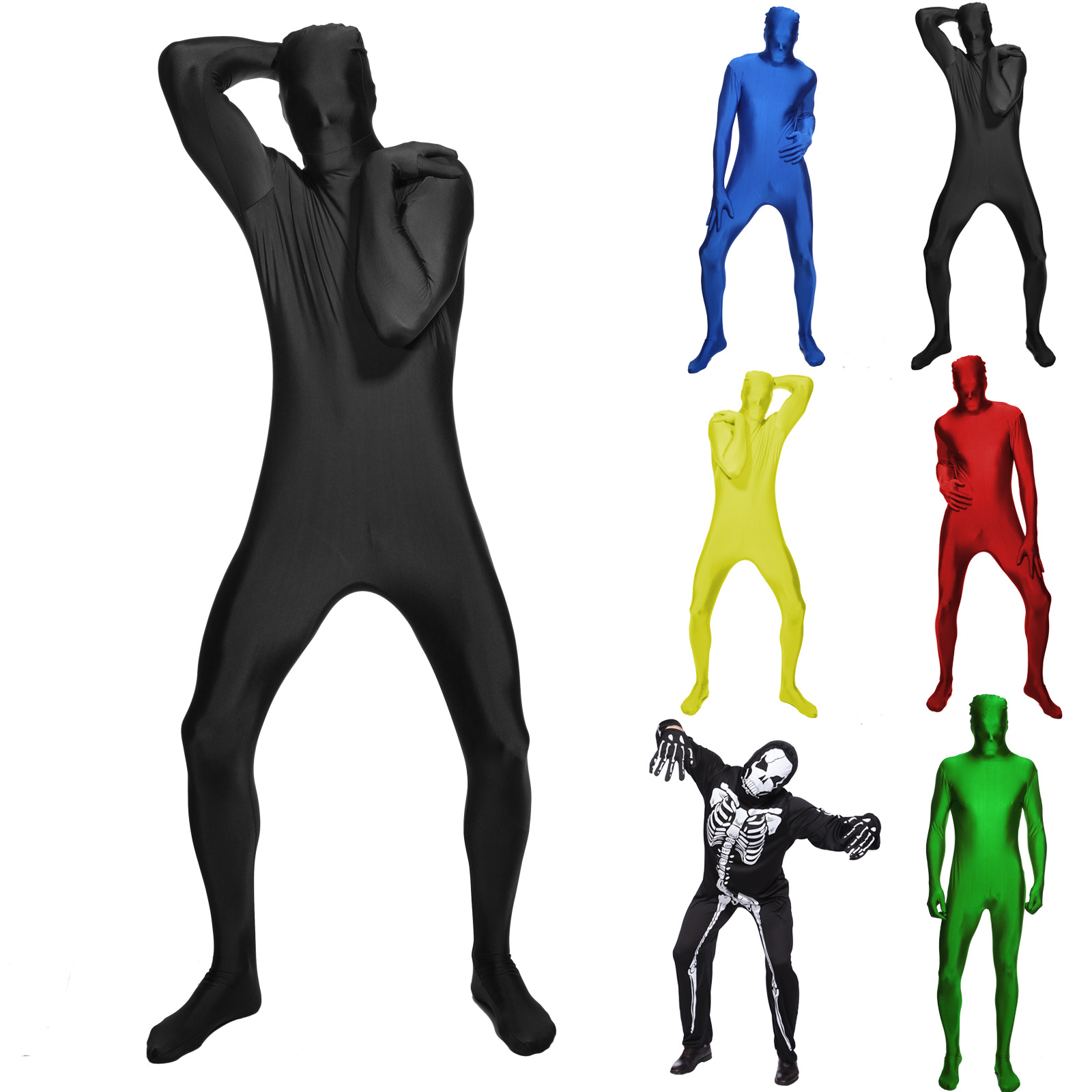 Full body spandex suit consider