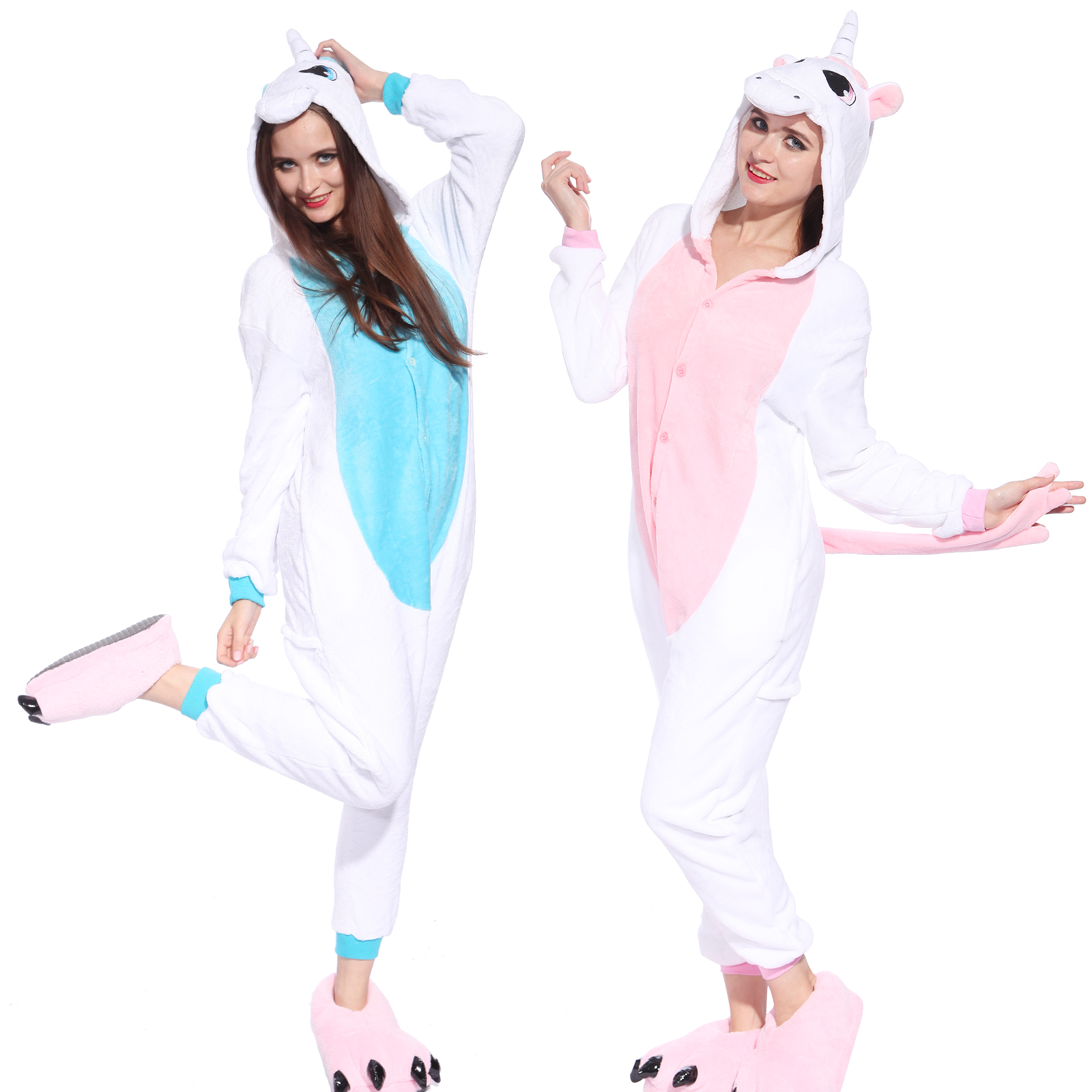 pyjama combinaison costume deguisement flanelle capuche licorne adulte carnaval ebay. Black Bedroom Furniture Sets. Home Design Ideas