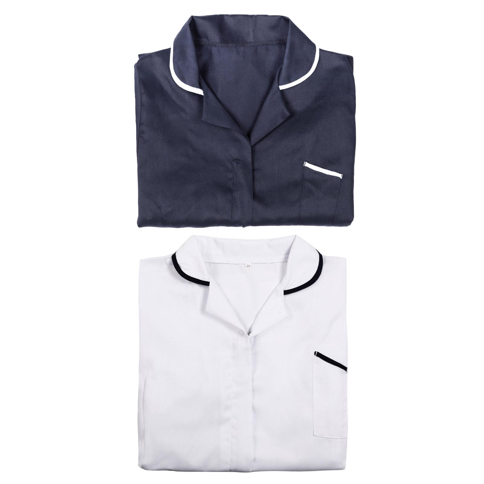 Ladies beauty salon beautician spa nurse carer tunic for White spa uniform uk