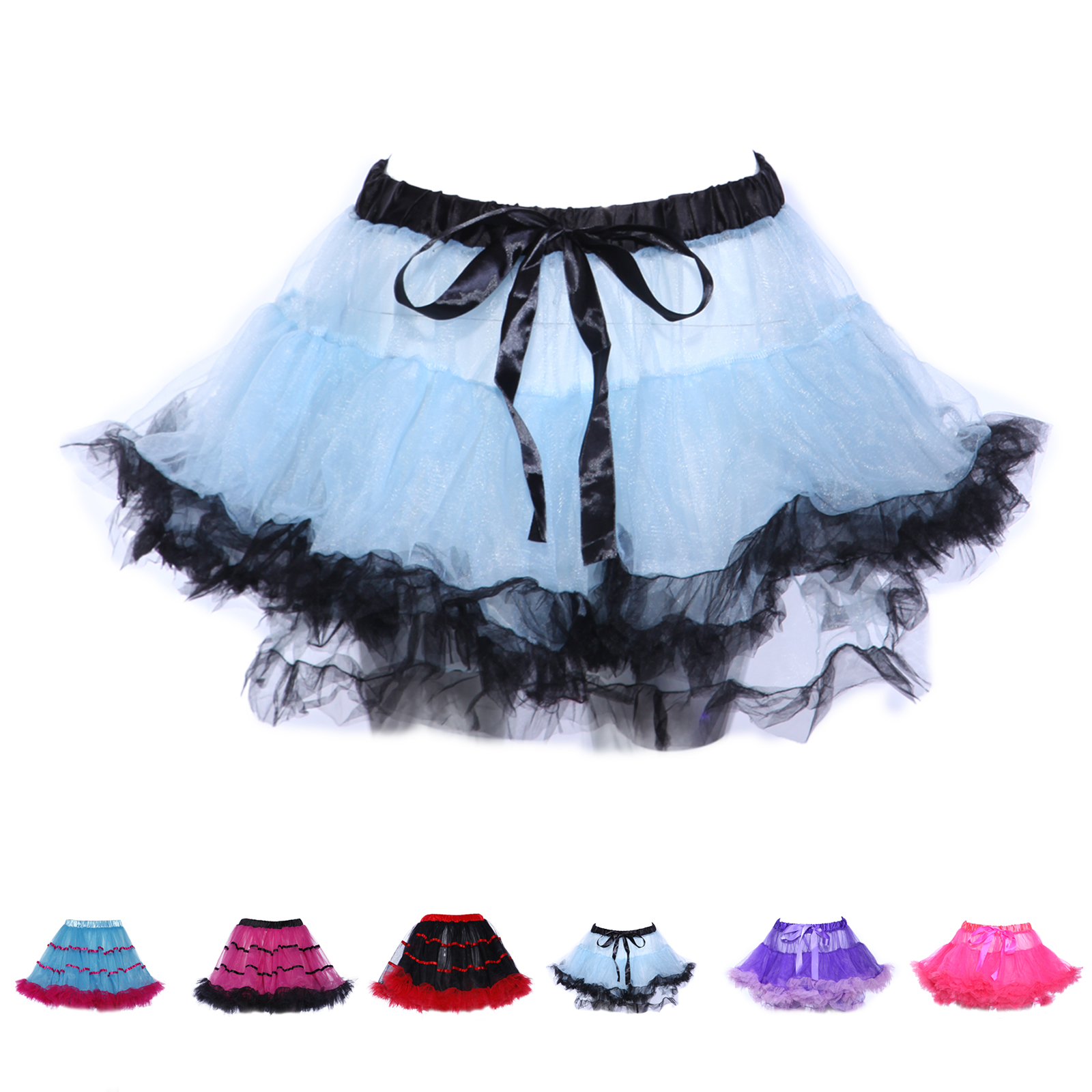 tutu t t ballettrock rock pettiskirt petticoat chiffon t llrock karneval ebay. Black Bedroom Furniture Sets. Home Design Ideas