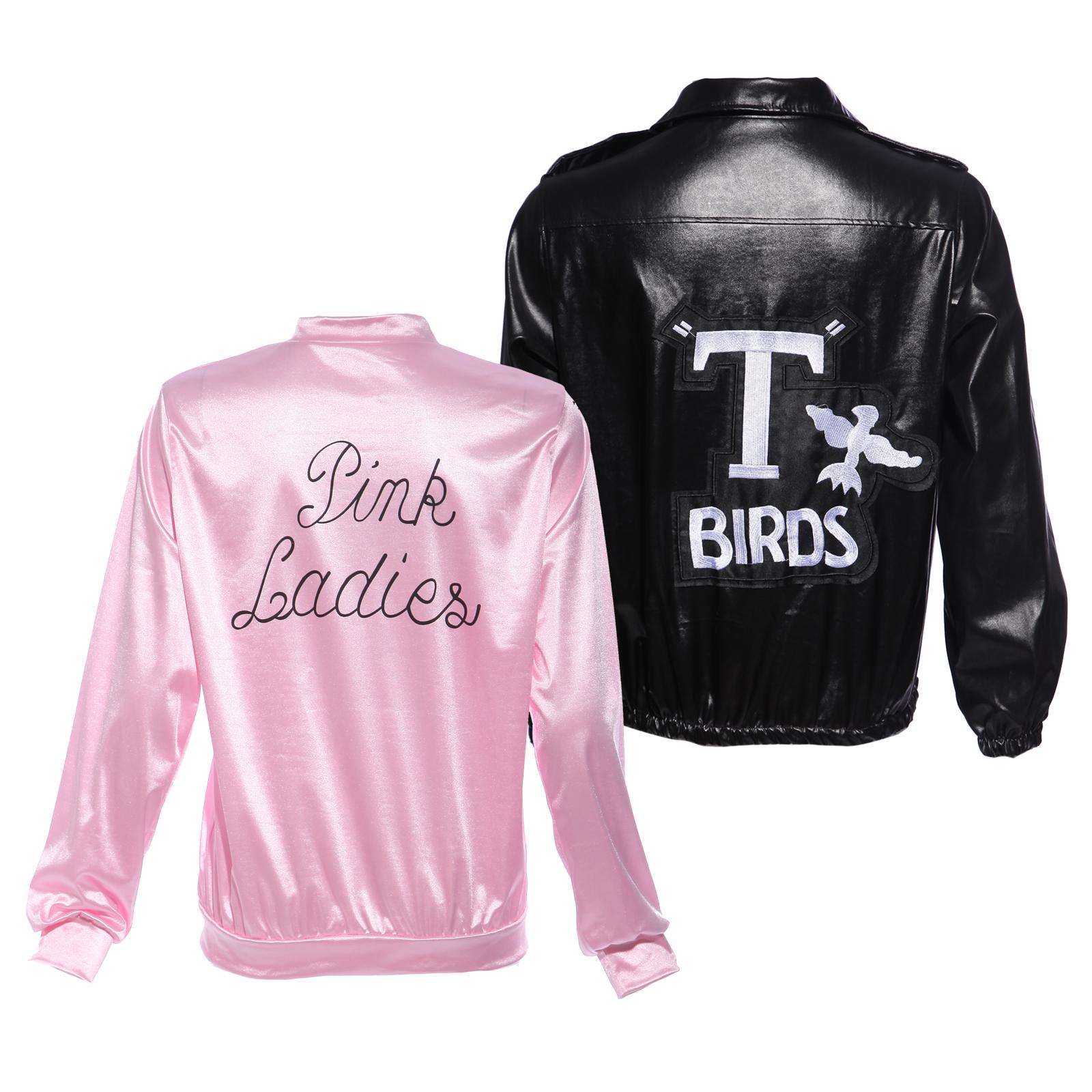 50er 60er jahre party grease kost m jacket damen pink lady. Black Bedroom Furniture Sets. Home Design Ideas