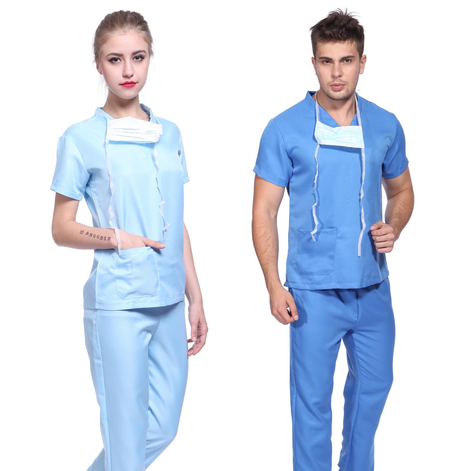 Er hospital scrubs suit surgeon costume medic doctor uniform fancy