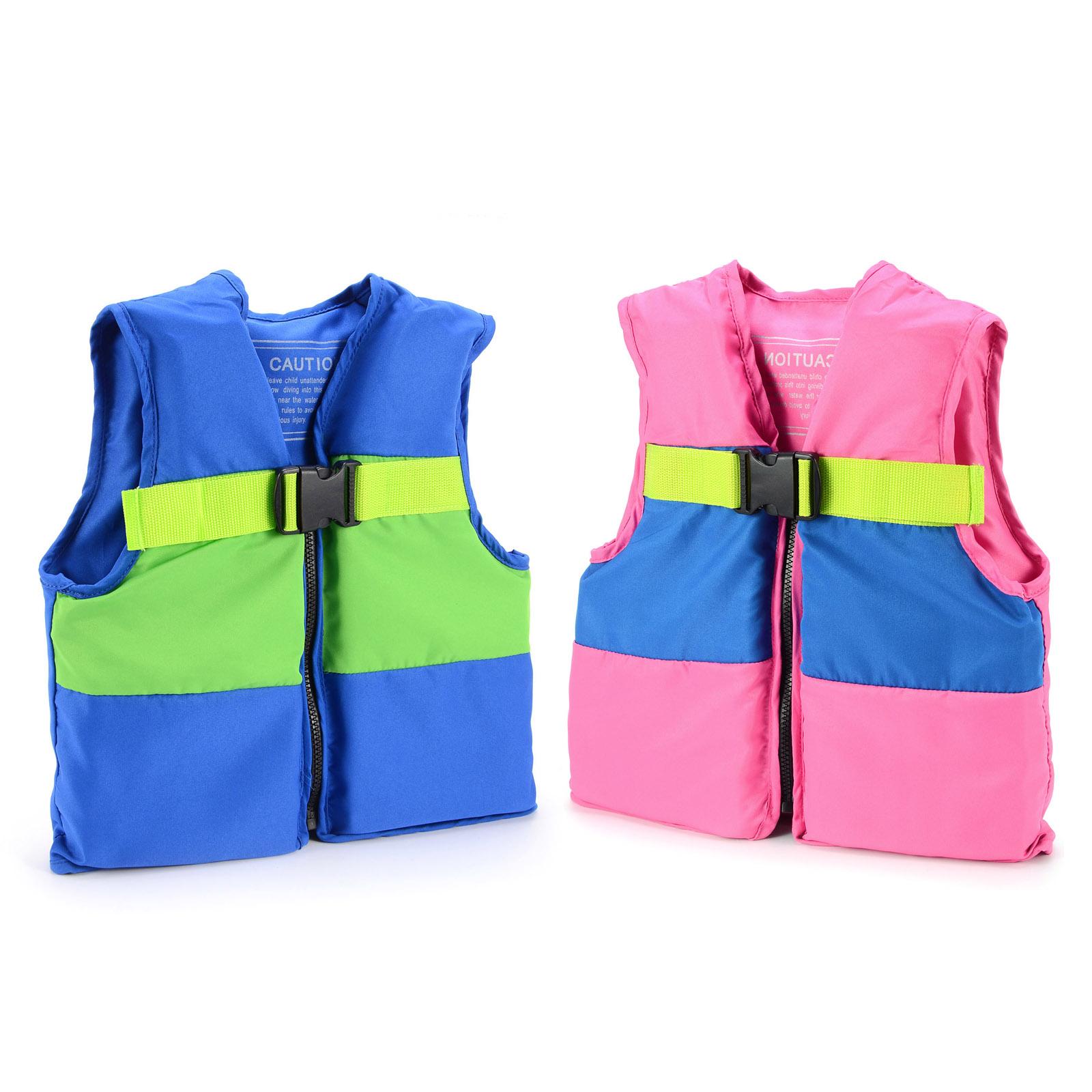 Kids Girls Boys Childs Swimming Vest Life Jacket Floating Aid Swim Ages 2 8 Ebay