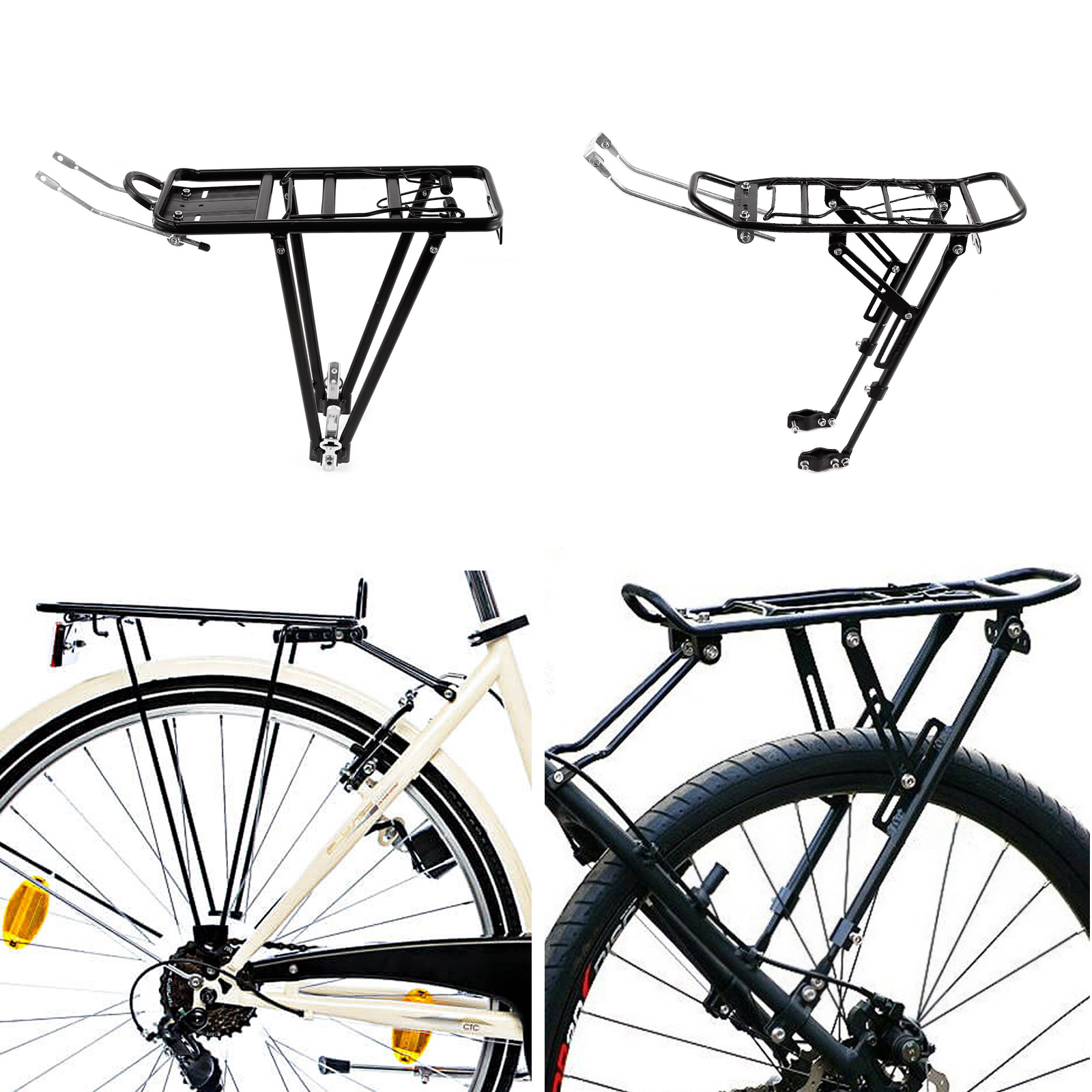 porte bagages panier arriere bicyclette montage fixe. Black Bedroom Furniture Sets. Home Design Ideas