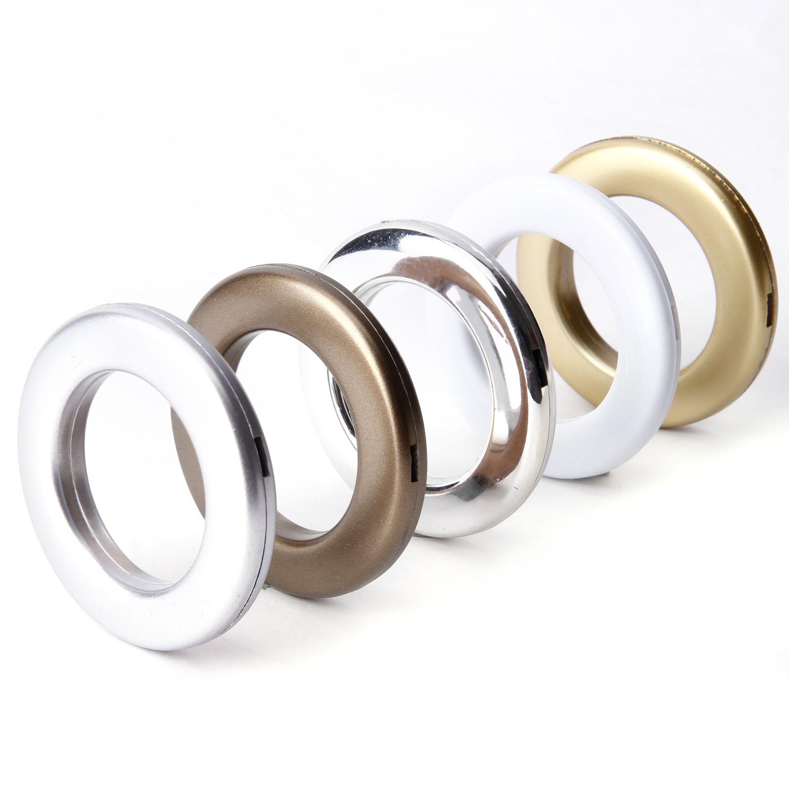 Eyelet Ring For Curtain Blinds Drapery Eyelets Heading Rings Clip Grommets Ebay