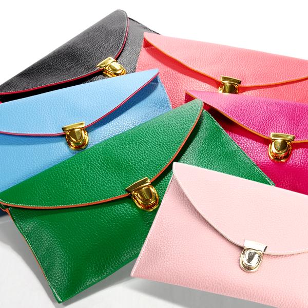 ladies Womens Envelope Clutch Chain Purse carry Handbag Shoulder ...