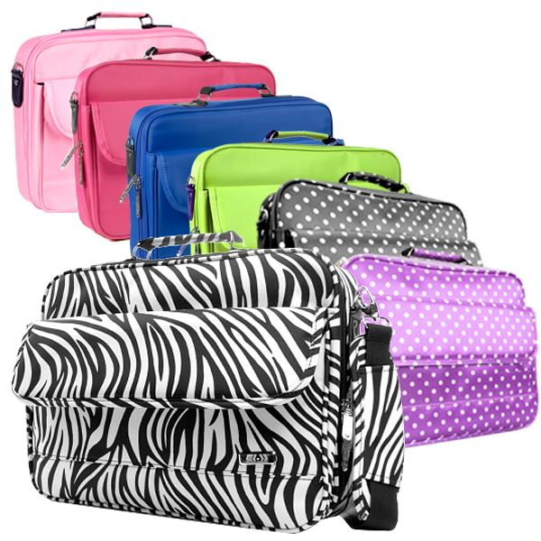 sac sacoche housse portable 17 39 39 17pouces pc portable ipad notebook laptop femme ebay. Black Bedroom Furniture Sets. Home Design Ideas