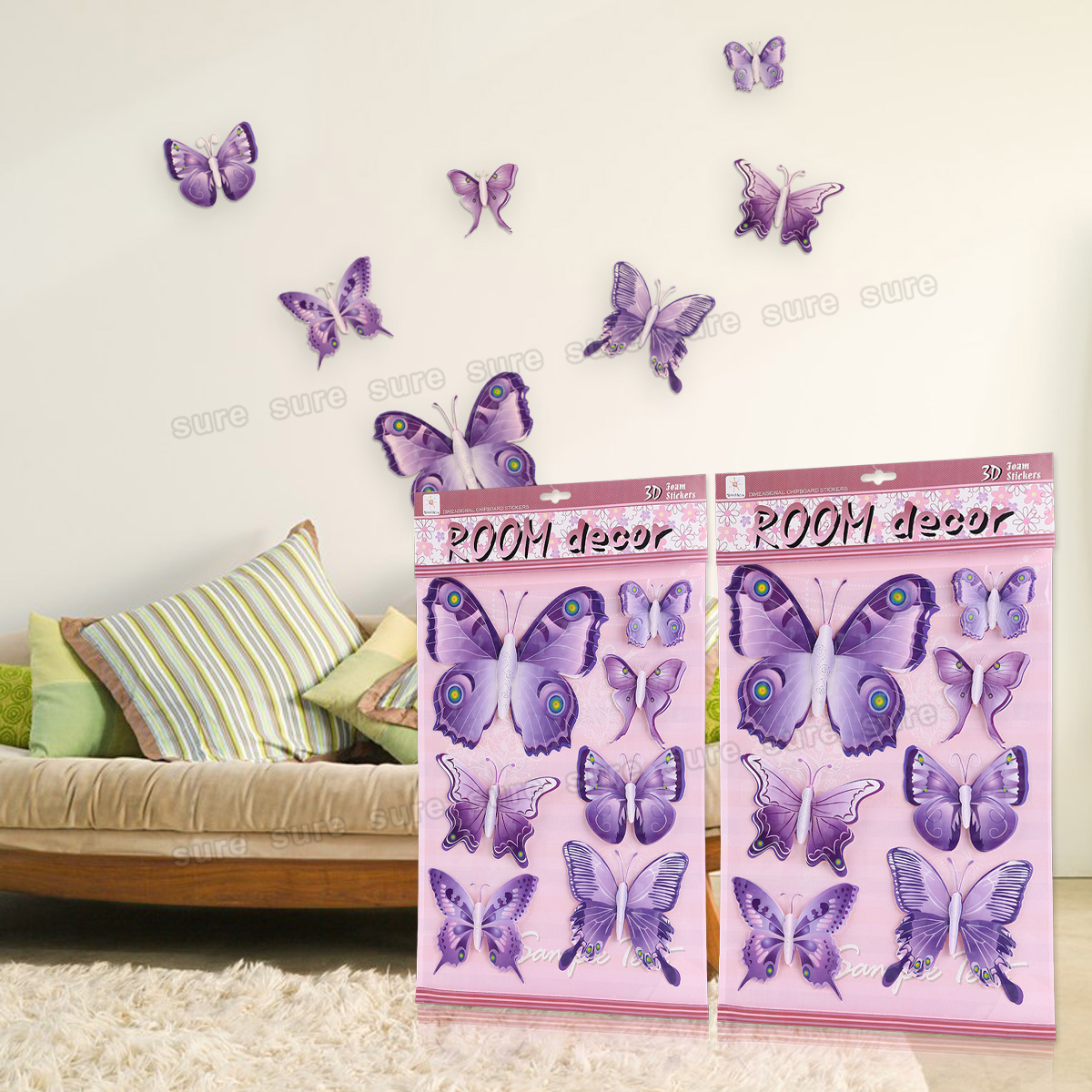 Ebay - Mariposas para pared ...