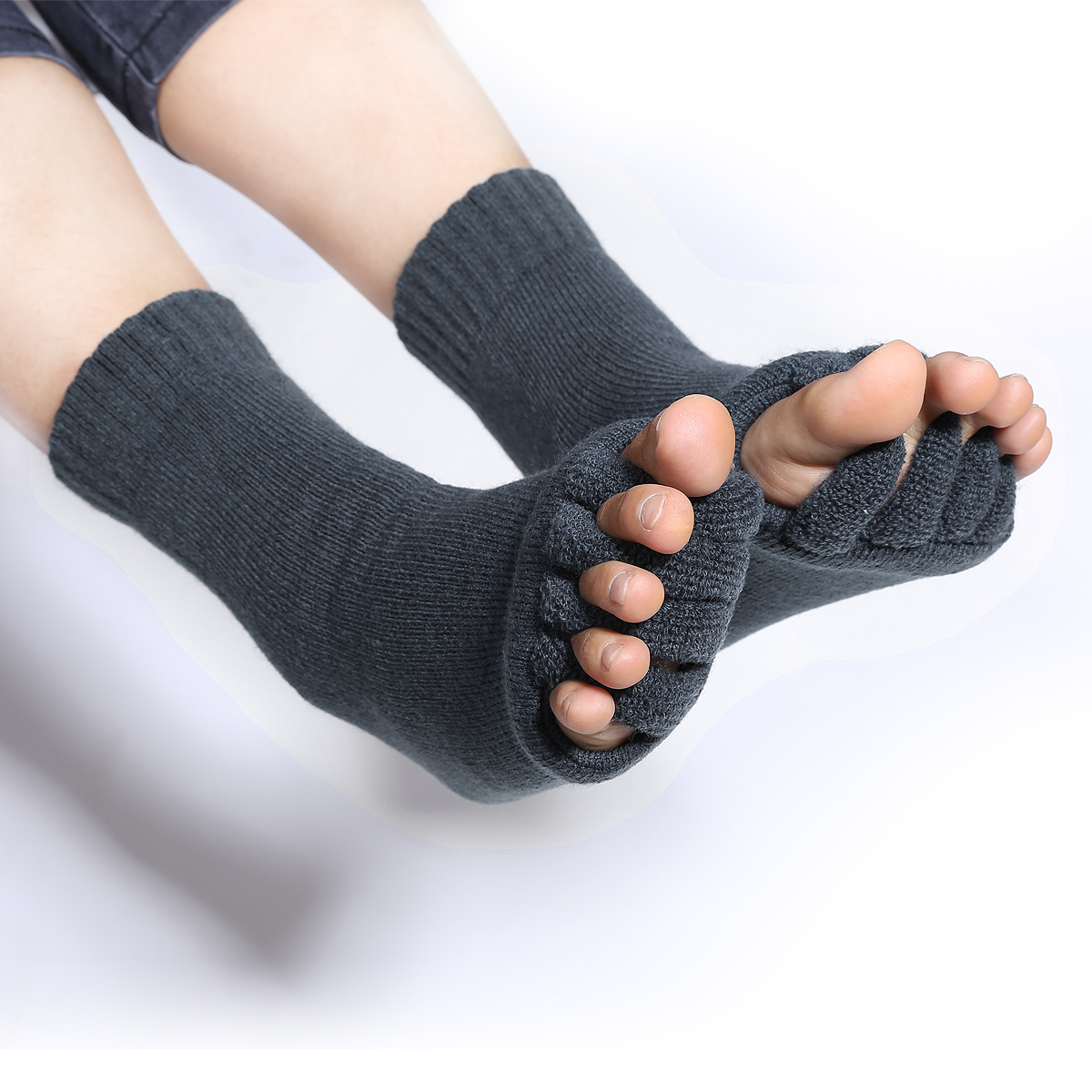 Yoga Shoes For Bunions: Massage Toe Socks Foot Blood Circulation Foot Pain Relief