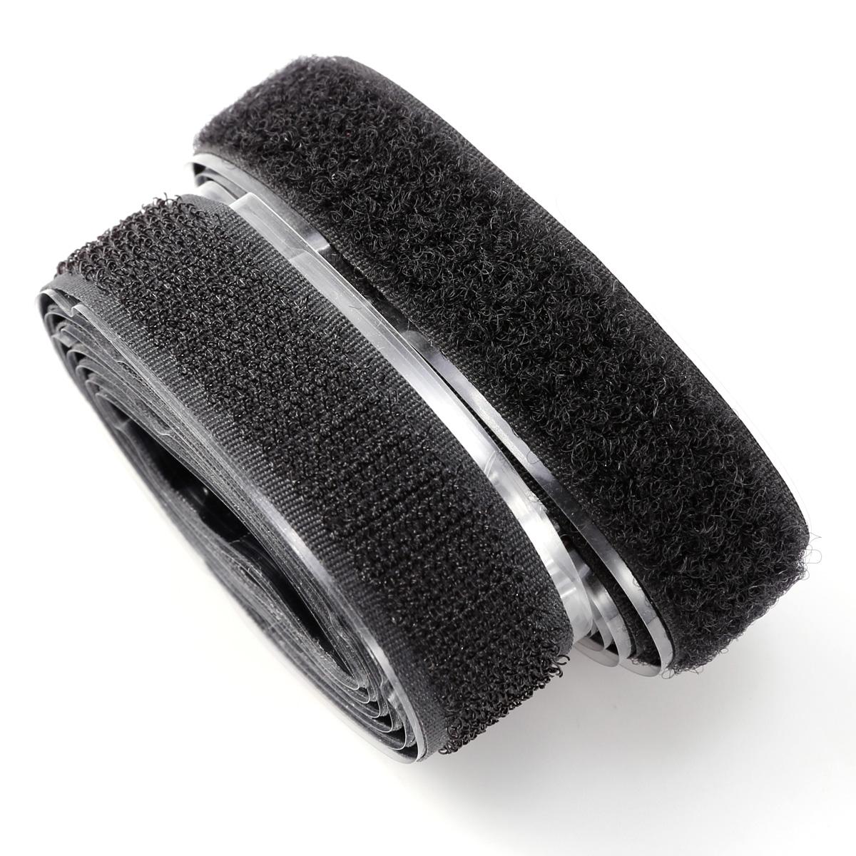 1 2 5m klettband hakenband flauschband klettverschluss selbstklebend ver breite ebay. Black Bedroom Furniture Sets. Home Design Ideas