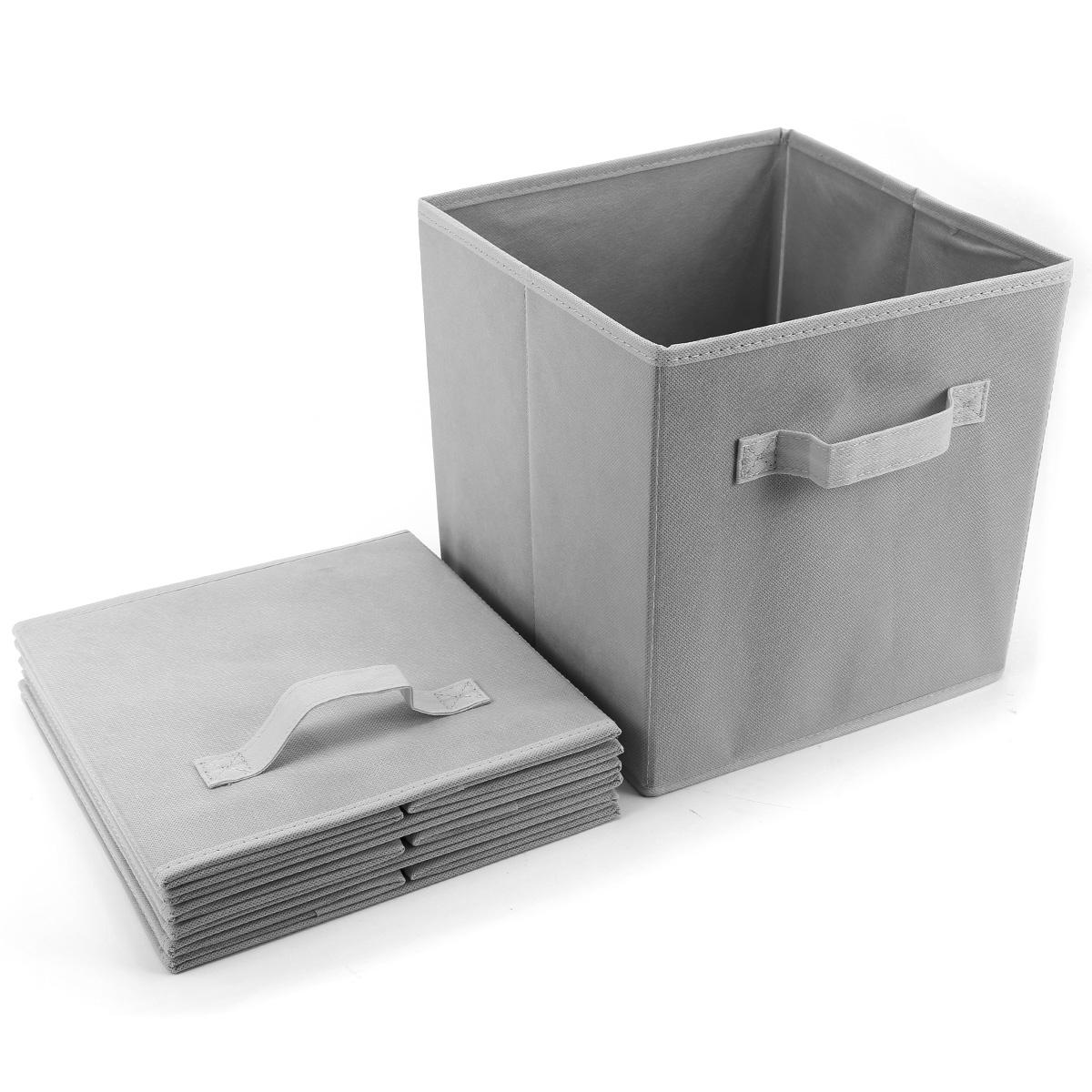 Paquete de 4pcs cajas de almacenaje para ropa accesorios - Cajas de almacenaje ...