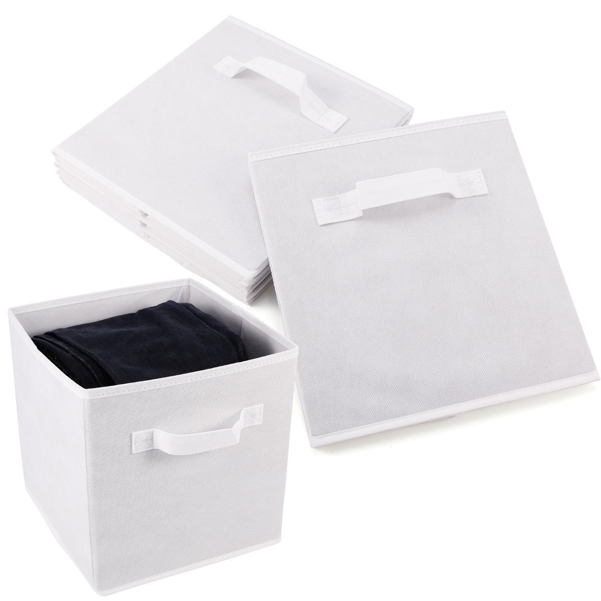 Set de 4 caja de almacenaje para juguetes ropas caja de - Cajas tela almacenaje ...