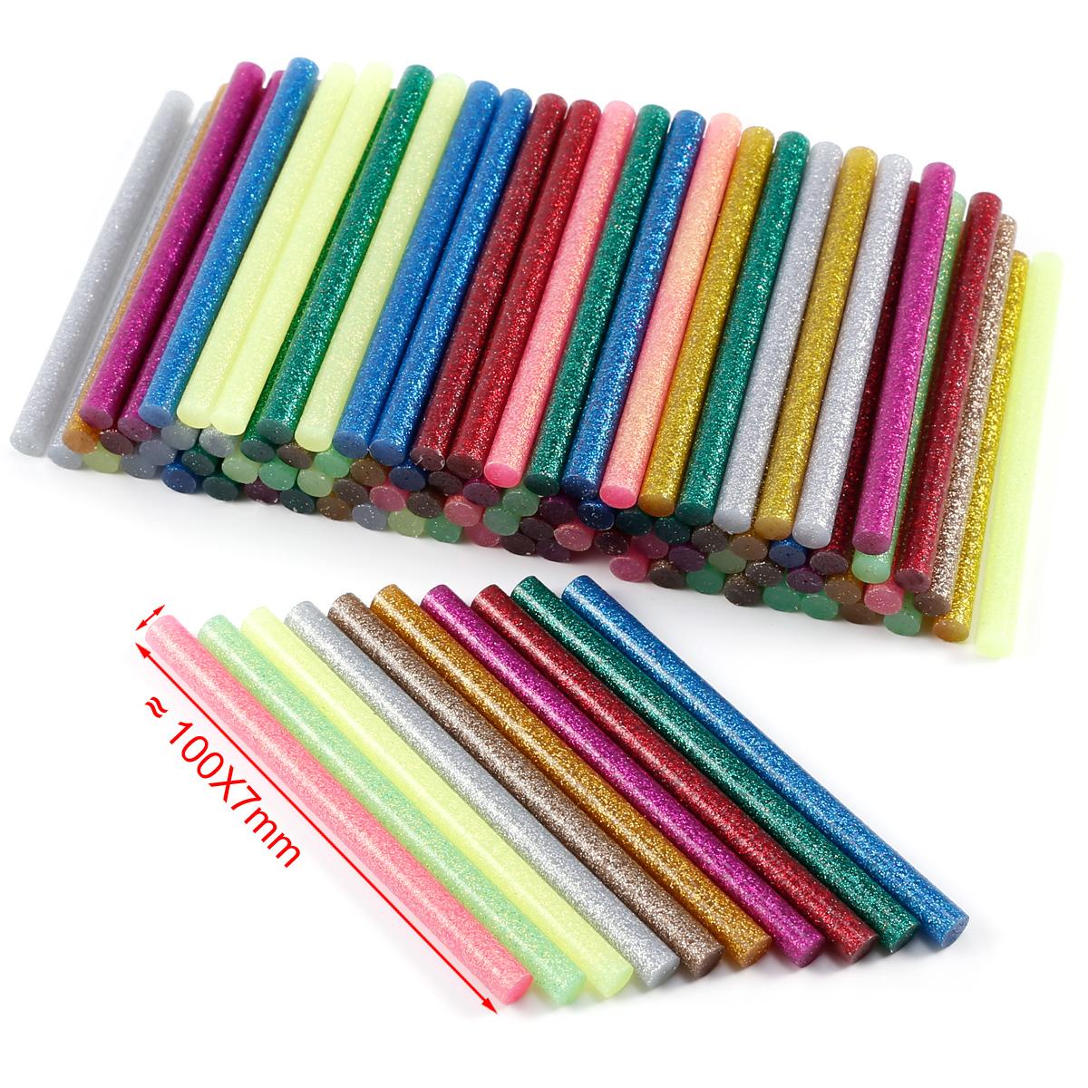 100pcs 10cm barra de pegamento adhesivo termofusible for Pistola de pegamento o de silicona