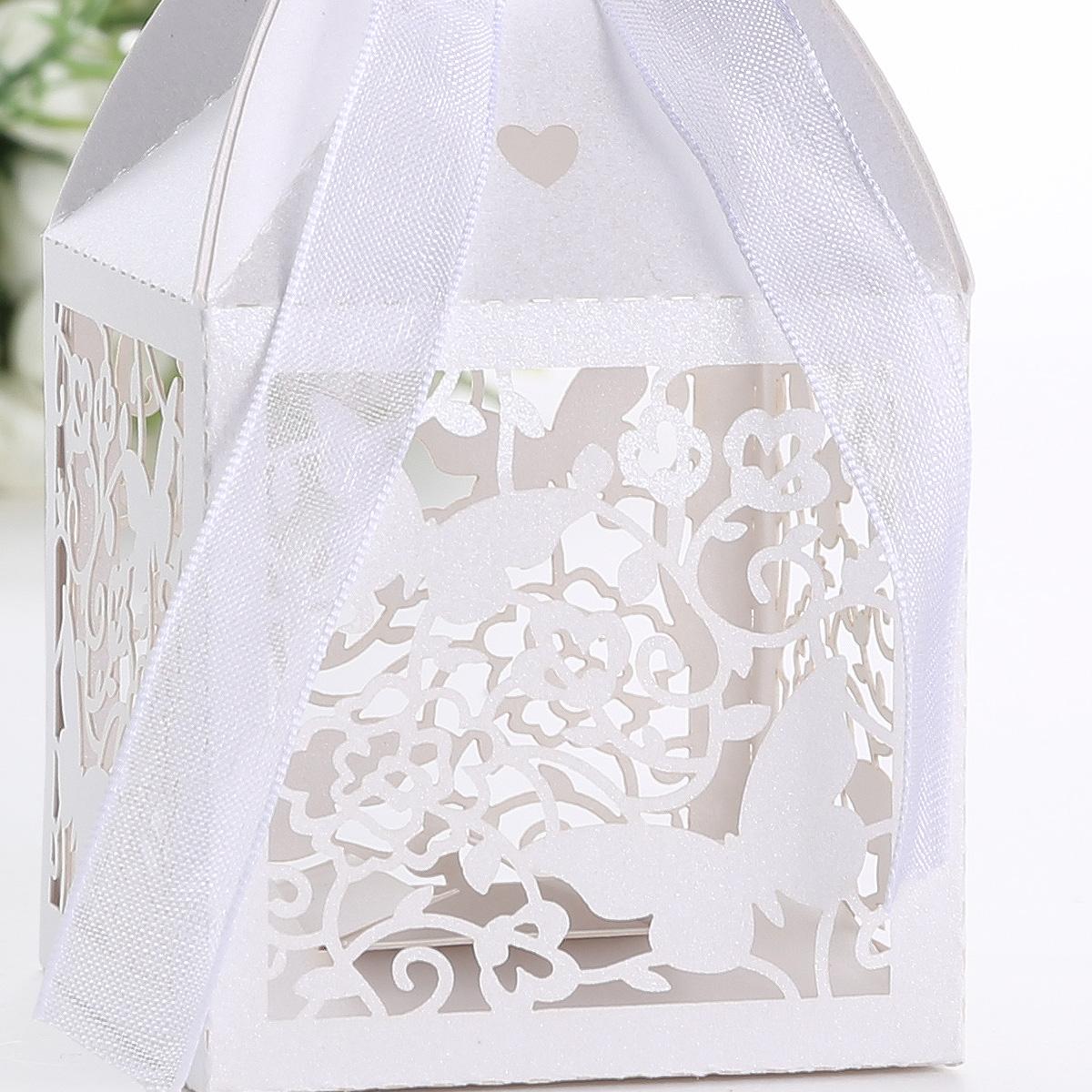 25 x gastgeschenk geschenkbox schachtel box hochzeit deko schmetterling karton. Black Bedroom Furniture Sets. Home Design Ideas