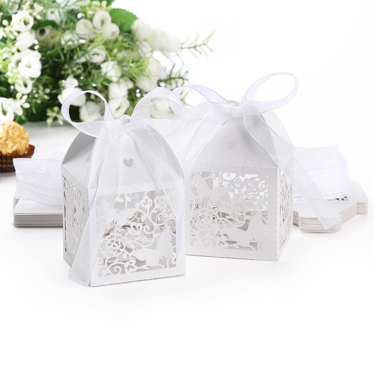 pcs cajita para recuerdos cajas para regalos de boda bombones chocolate