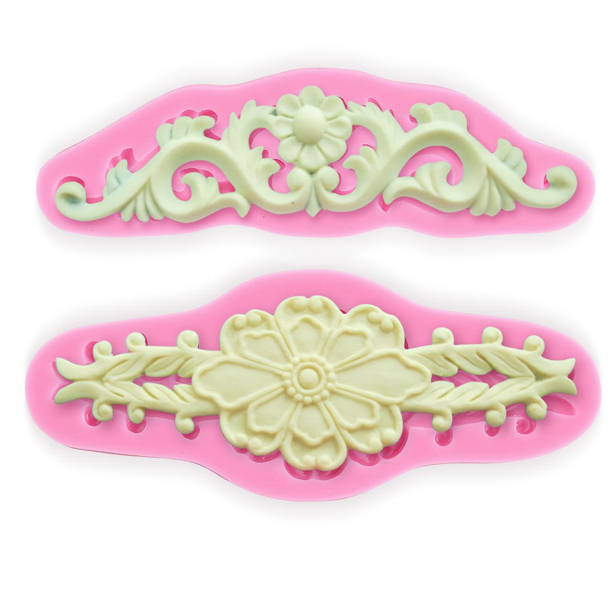 Cake Decorating Lace Molds Uk : Sugarcraft Moulds,Lace Silicone Mold,Cake Decorating Tool ...