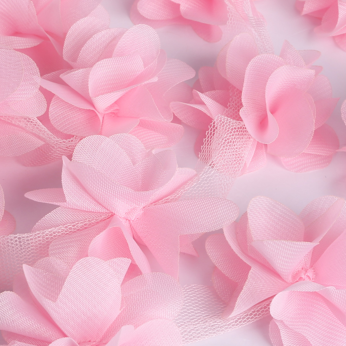 3d rosa blume spitze borte band kleid tasche spitzenborte. Black Bedroom Furniture Sets. Home Design Ideas