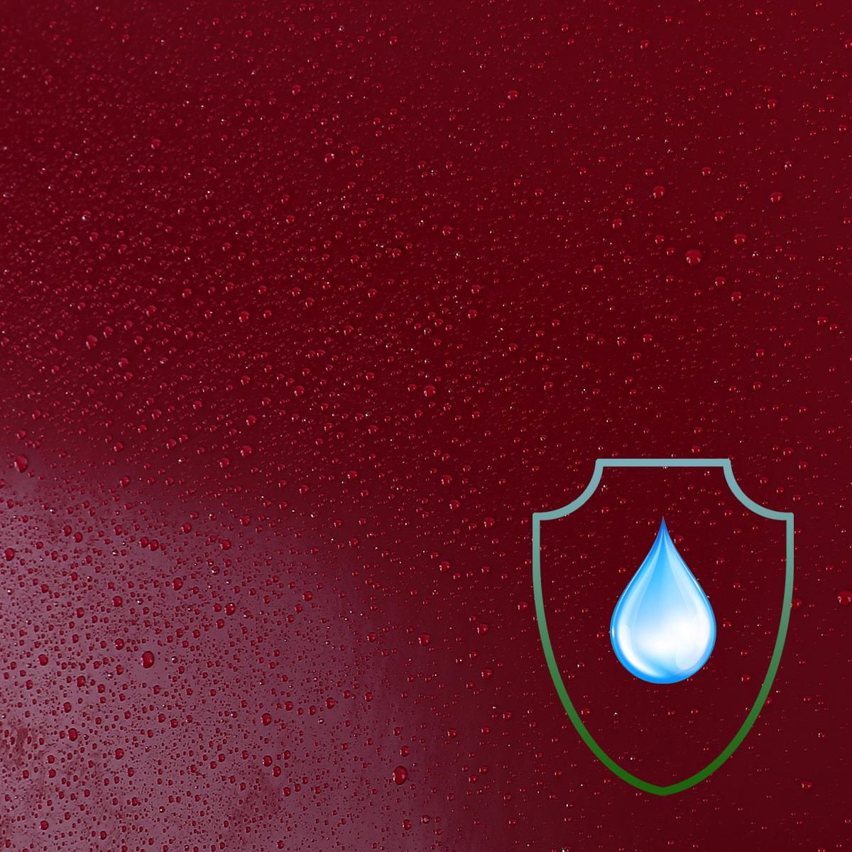 10m rouleau papier peint tanche autocollant 61cm rouge pour meuble ebay. Black Bedroom Furniture Sets. Home Design Ideas