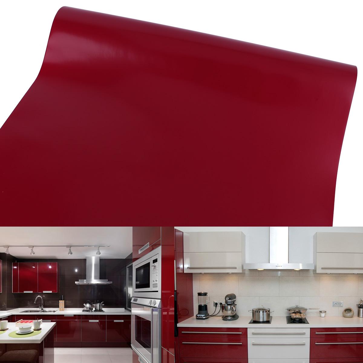 10m x 61cm rot m belfolie selbstklebefolie klebefolie for Klebefolie rot
