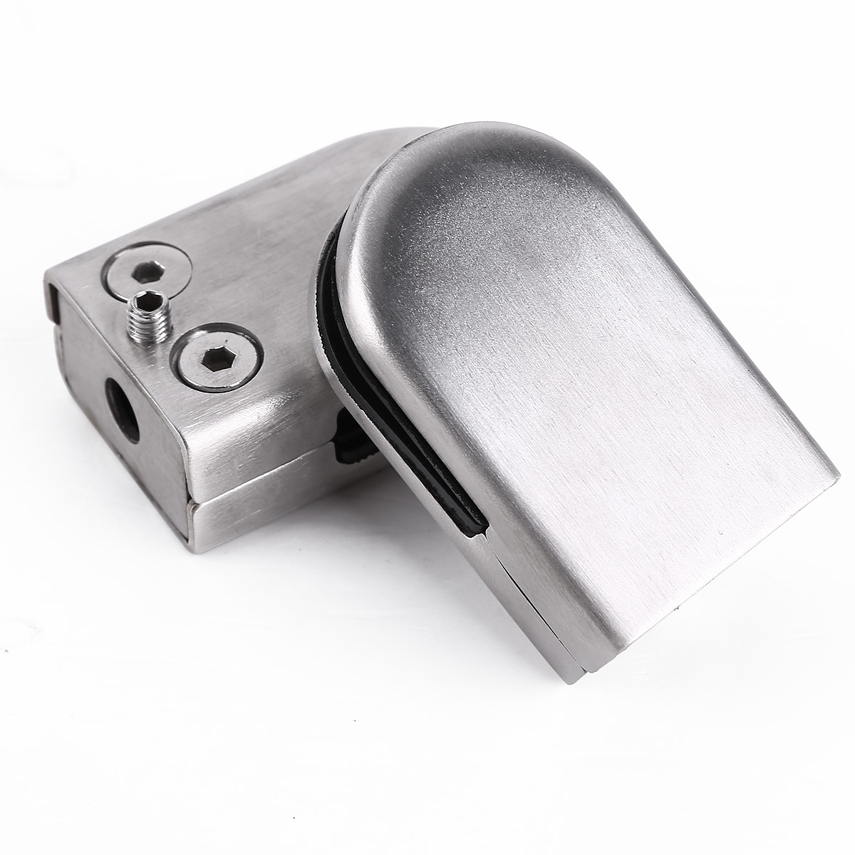Stainless steel glass clamps clips handrail
