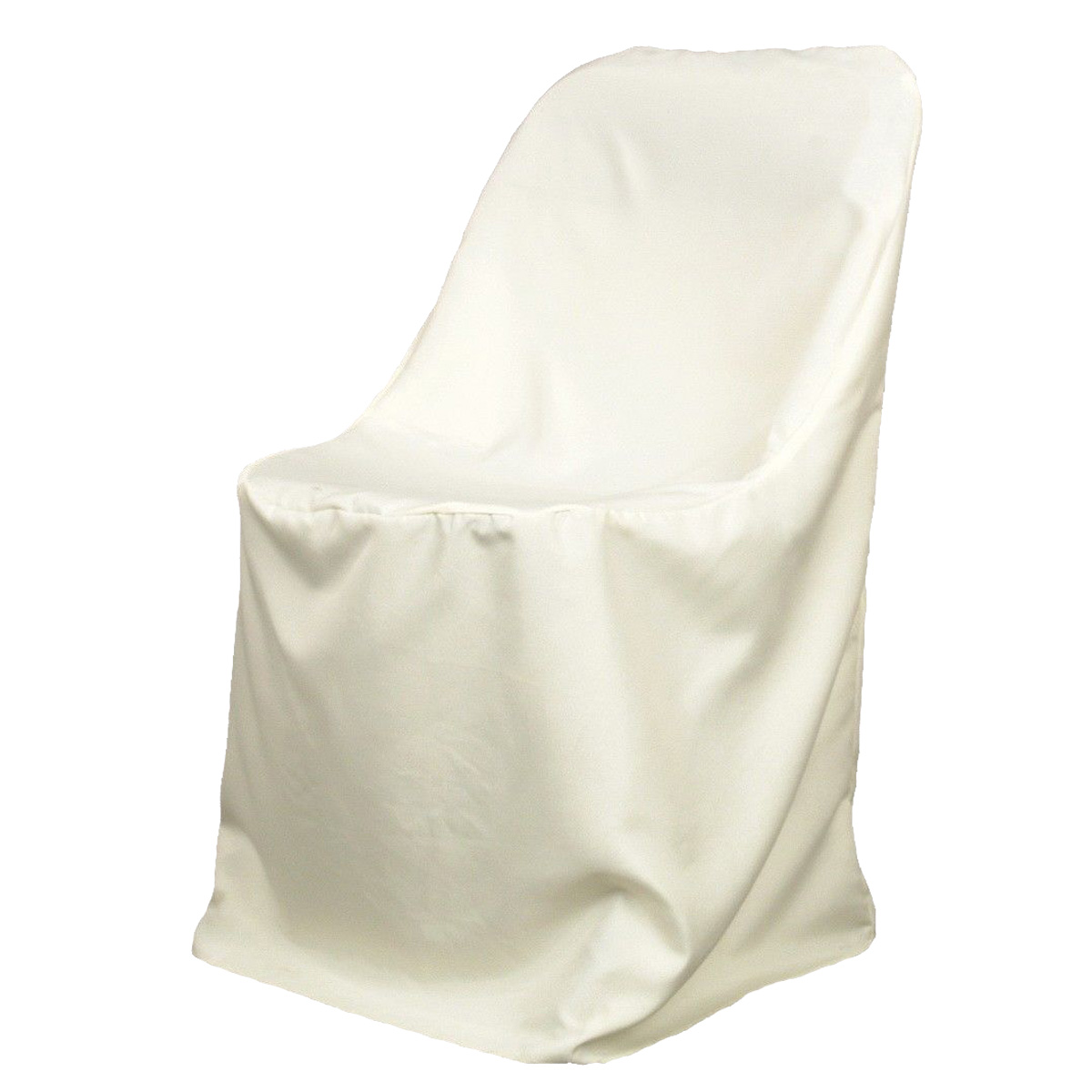 10x polyester ivory chair covers cover wedding party banquet ebay