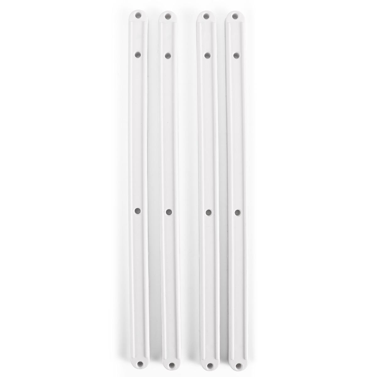 Guías para cajones armarios cocina muebles del Plástico Longitu