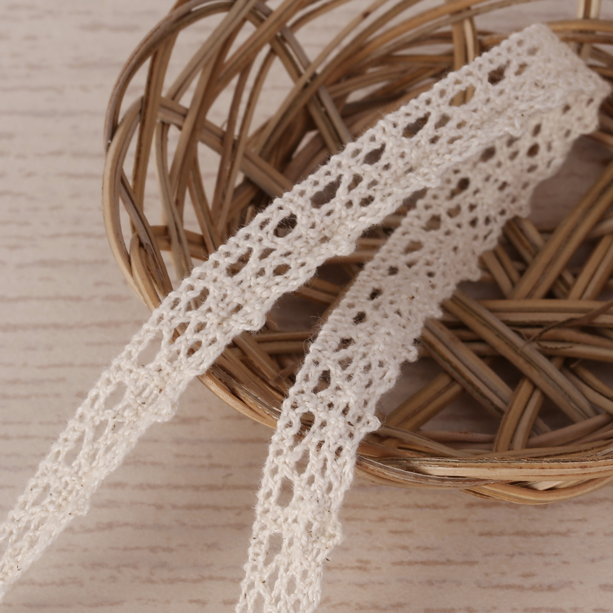 10m vintage cream lace bridal wedding trim ribbon craft cotton crochet gift diy ebay. Black Bedroom Furniture Sets. Home Design Ideas