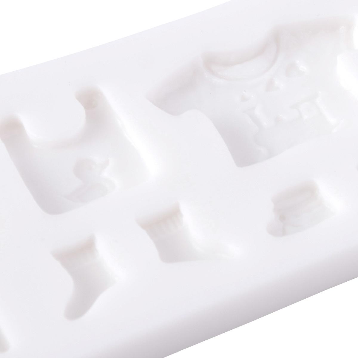 baby kleidung motive silikon ausstechform ausstecher. Black Bedroom Furniture Sets. Home Design Ideas