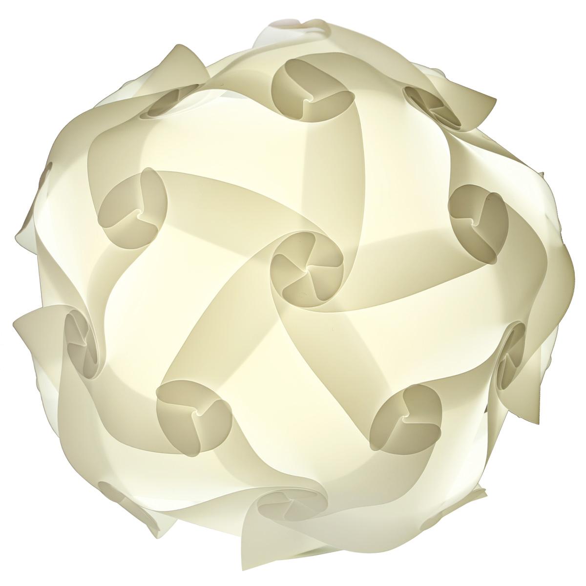 abat jour suspendu plastique blanc puzzle 30 morceaux lampe 25cm 30cm 40cm ebay. Black Bedroom Furniture Sets. Home Design Ideas