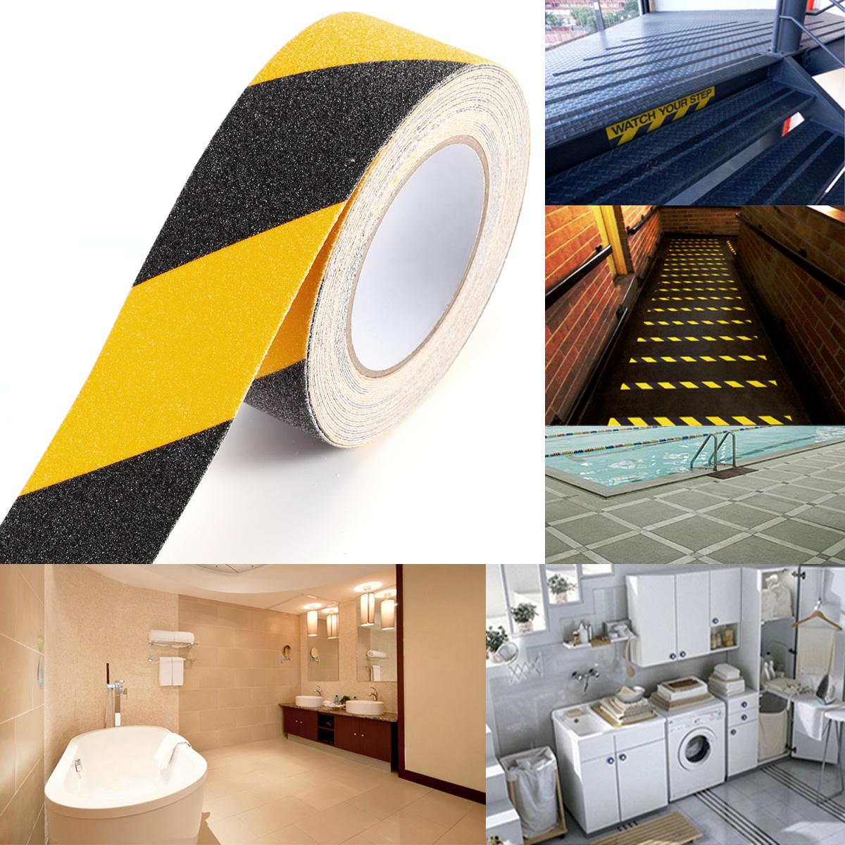 10m 50mm schwarz gelb antirutschband klebeband antirutschbelag stufe bauen ebay. Black Bedroom Furniture Sets. Home Design Ideas