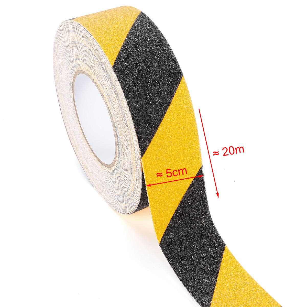 20m 50mm schwarz gelb antirutschband klebeband selbstklebend antirutschbelag ebay. Black Bedroom Furniture Sets. Home Design Ideas
