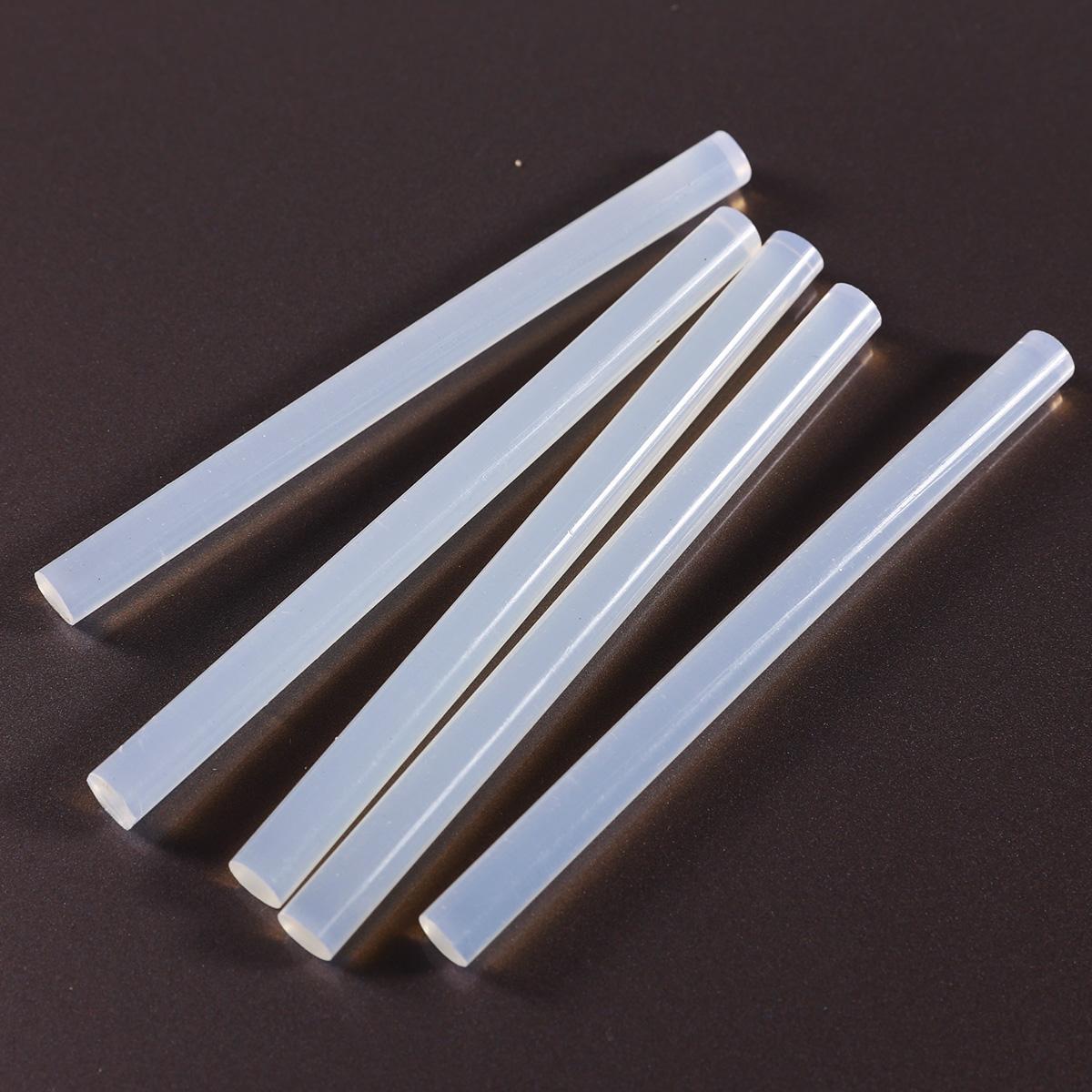 100 barras de pegamento adhesivo termofusible blanco for Pistola de pegamento o de silicona