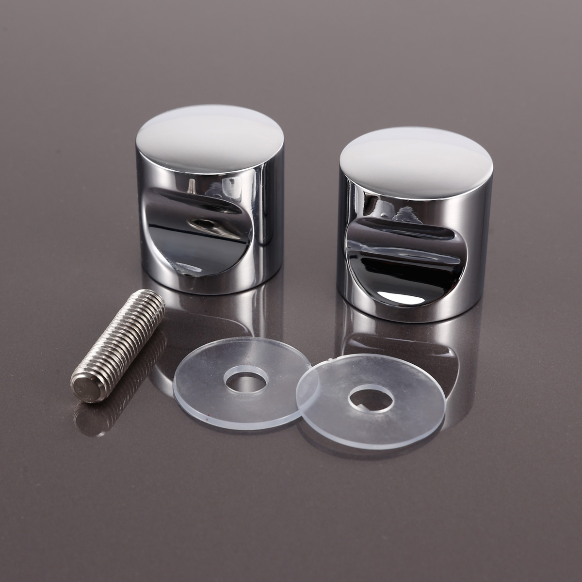 2 set pomo aluminio para puerta de vidrio tirador para - Tirador puerta cristal ...