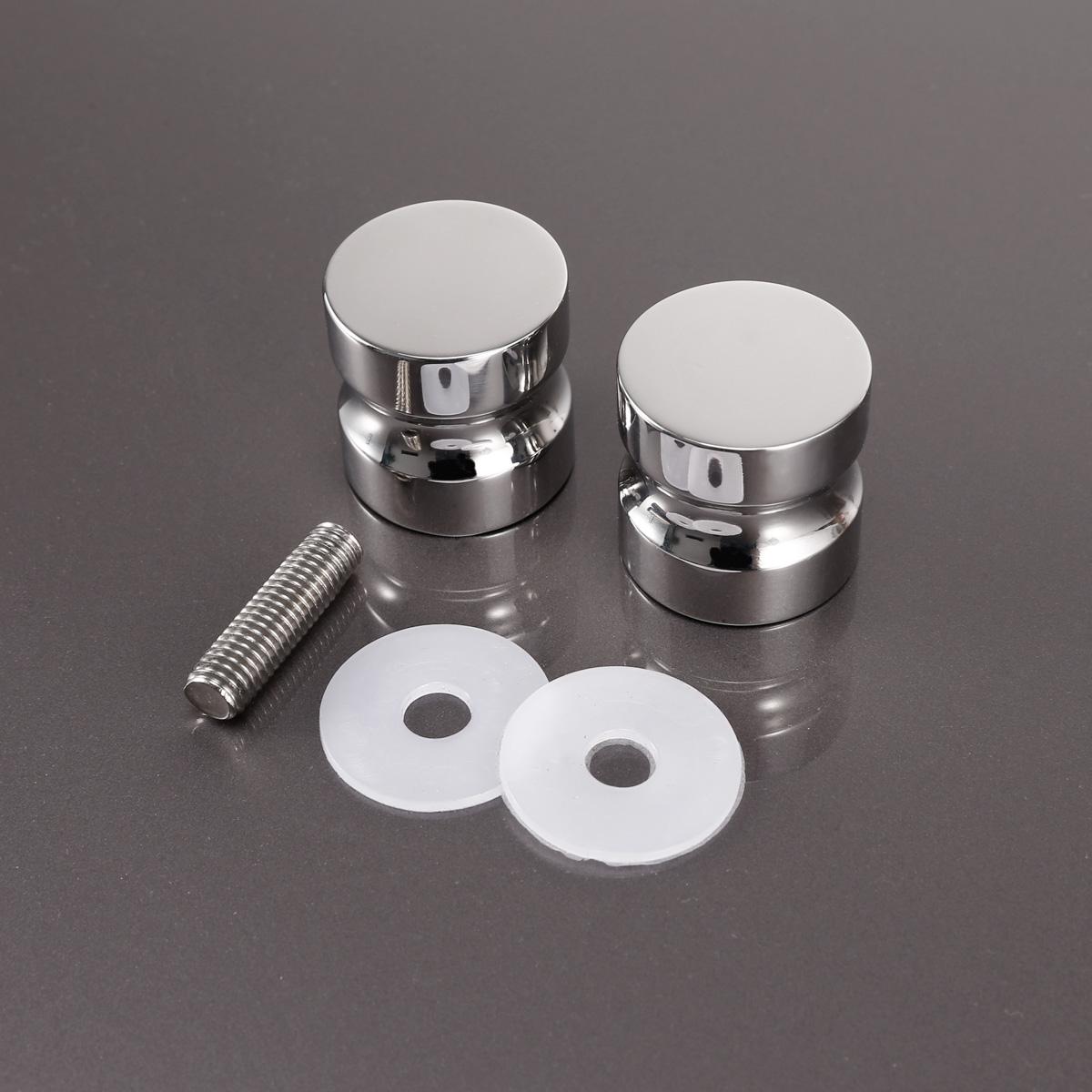 Glass bathroom knobs