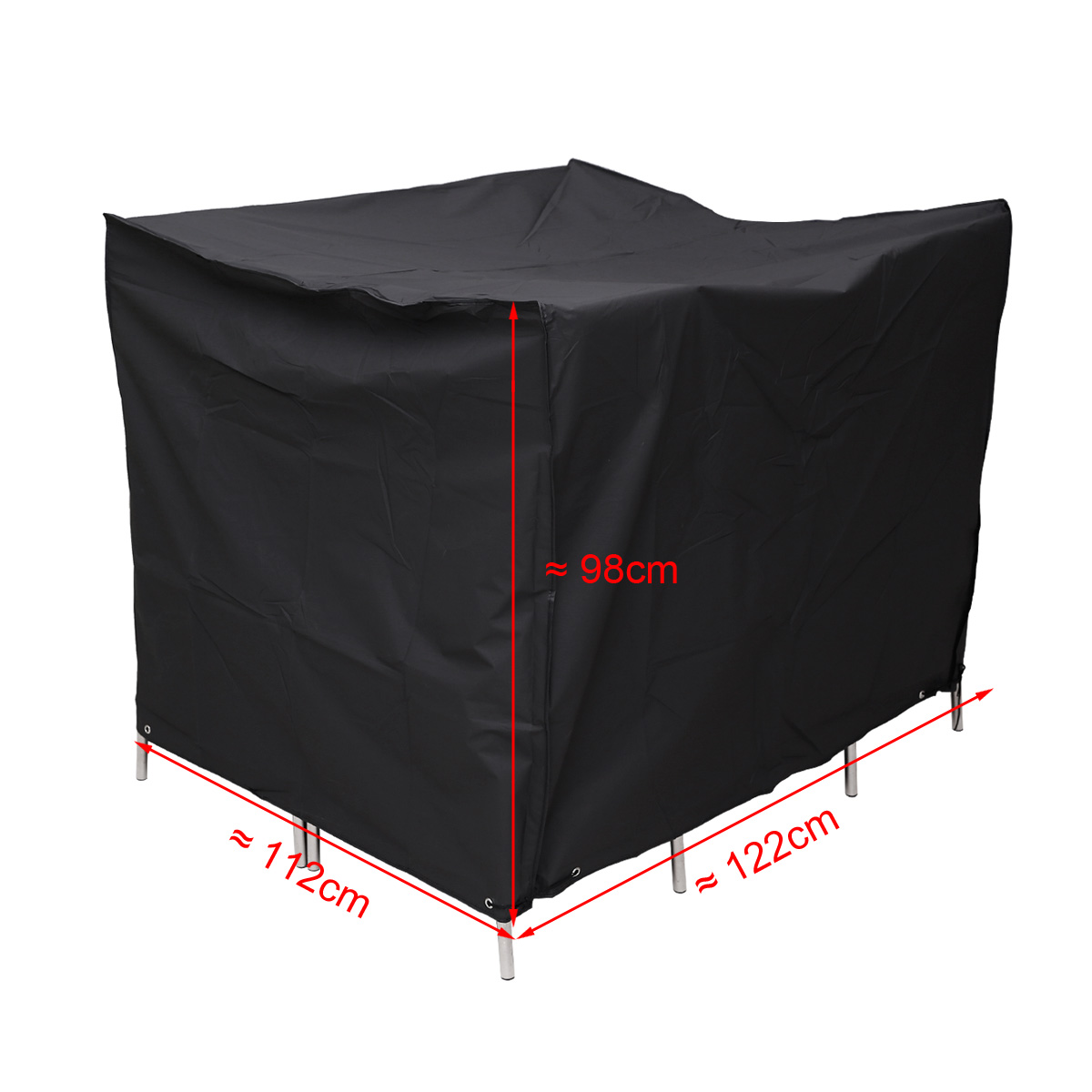GARDEN PATIO FURNITURE SET COVER CUBE WATERPROOF TABLE CHAIR SHELTER MANY SIZ