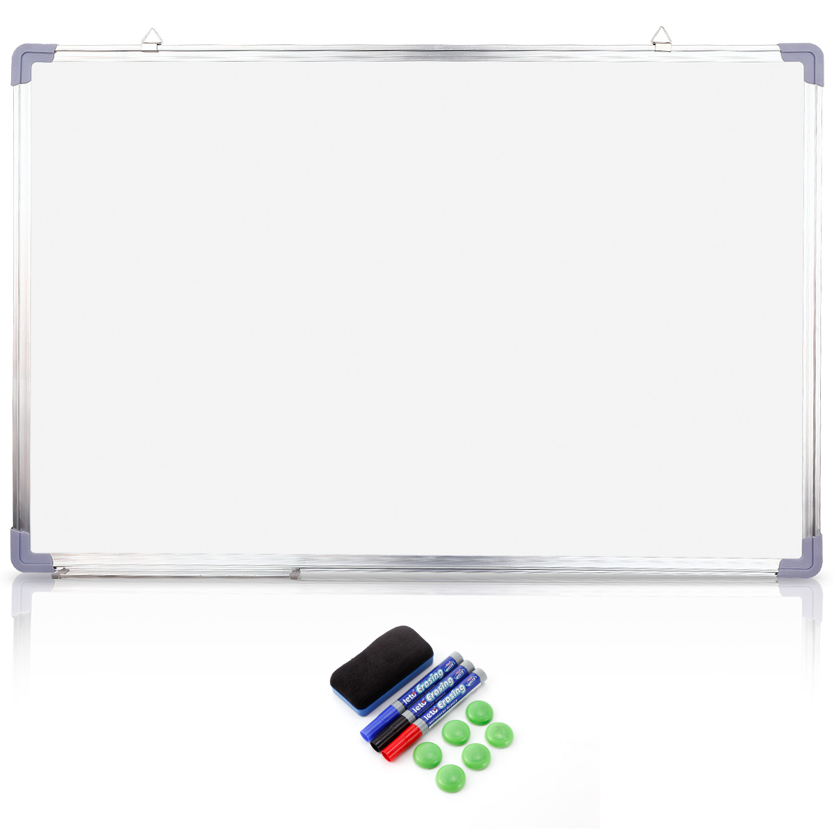 magnetic writing board A magnetic stylus pulls beads up to create solid lines kids writing their first letters will get helpful up, down and sideways instructions via easy-to-follow arrows erases with the tip of a finger .