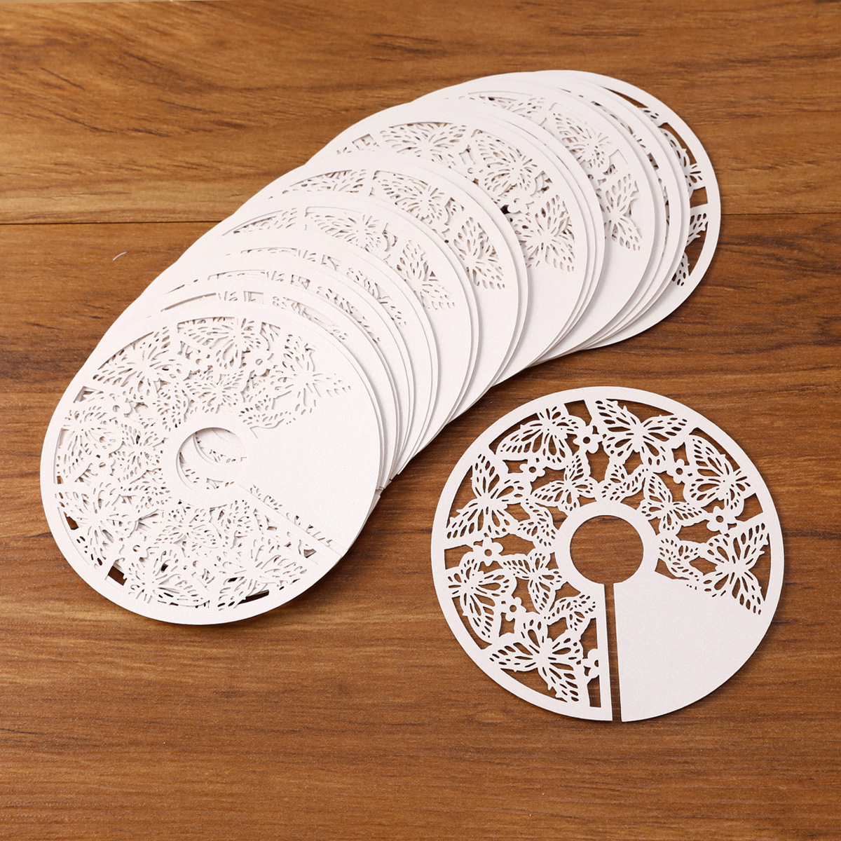 25 Coasters Table Mats Paper Cup Wine Glass Holder Name