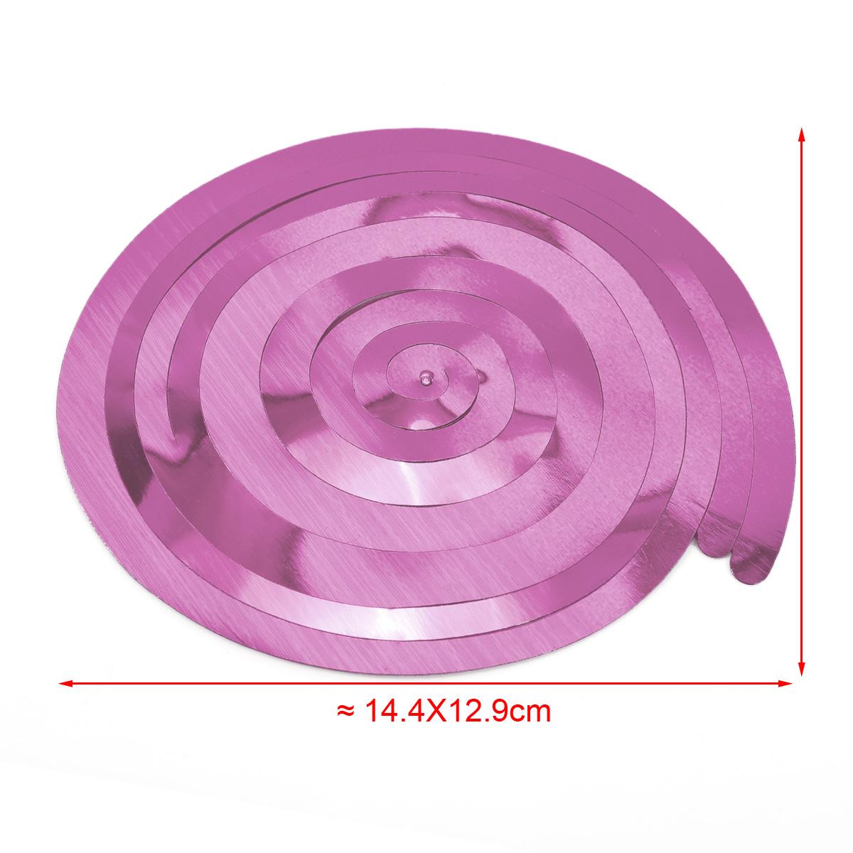 12x suspension spirale m tallis suspendre fushia rose vert bleu f te salle ebay. Black Bedroom Furniture Sets. Home Design Ideas