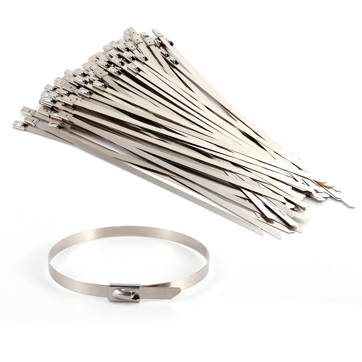 Stainless Steel Wire Ties : Pcs cm stainless steel metal cable wire ties zip tie