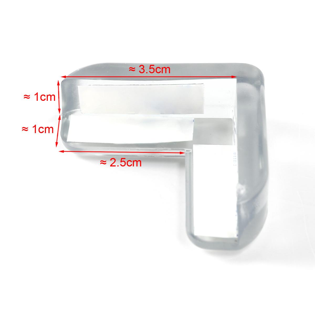 4tlg silikon eckenschutz kantenschutz tischkantenschutz baby sicherheit kanten ebay. Black Bedroom Furniture Sets. Home Design Ideas