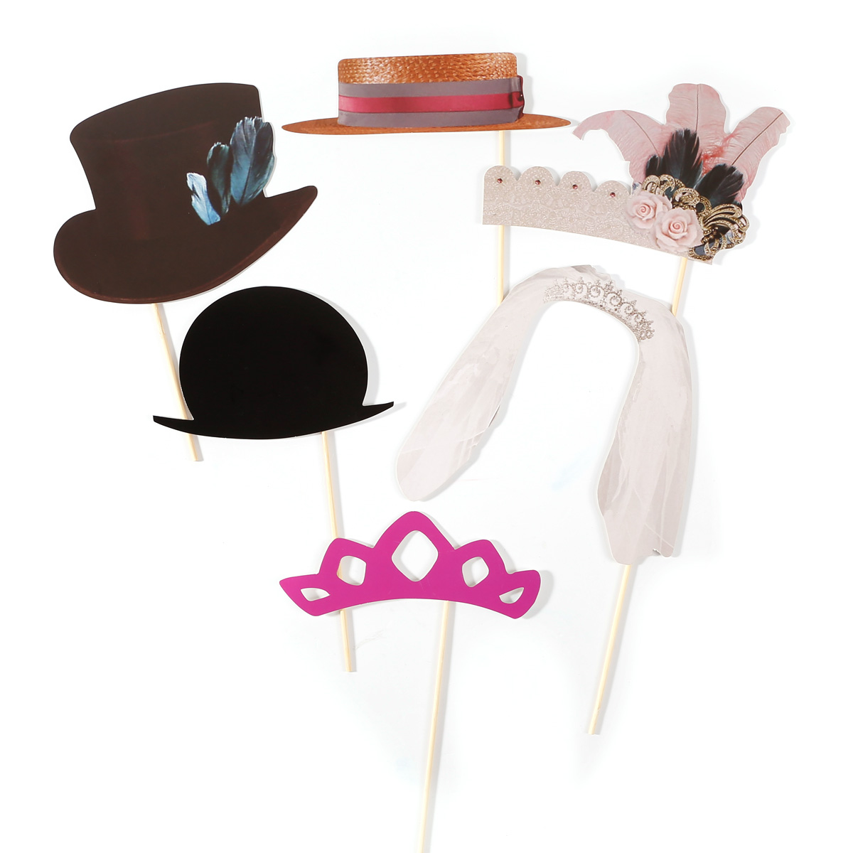 42 party photo booth selfie props colourful wedding moustache lips fun on sticks ebay. Black Bedroom Furniture Sets. Home Design Ideas
